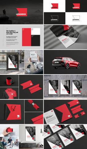 Leadeks / Разработка визуальной идентичности