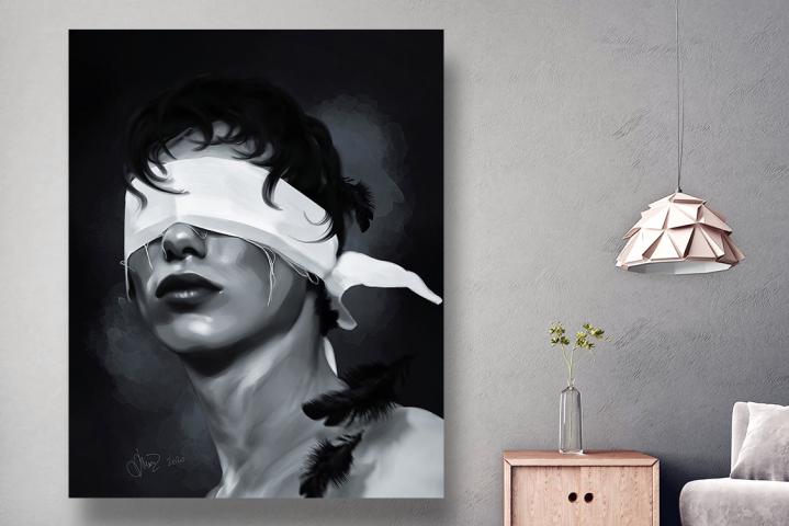 Introvert (Digital art)