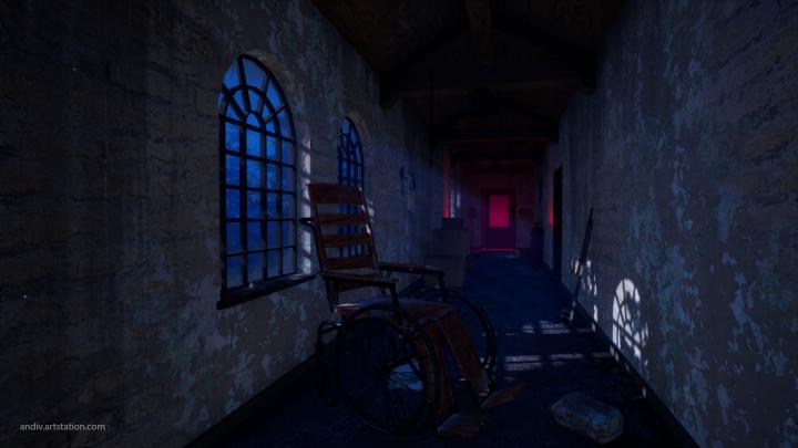 Strange Mansion Corridor [UE4]