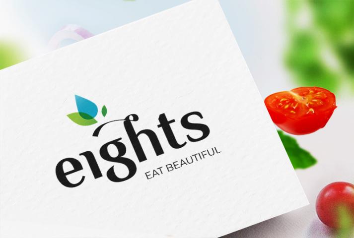 Конкурсный концепт логотипа для кафе здорового питания