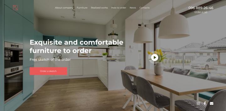 Дизайн мебельного магазина
