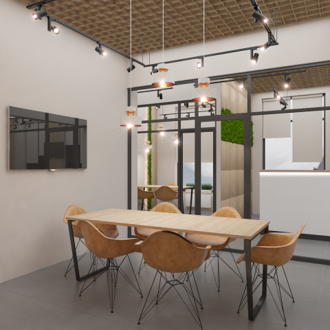 Офис отдел продаж Dom Smile 100м2 (переговорная 2)
