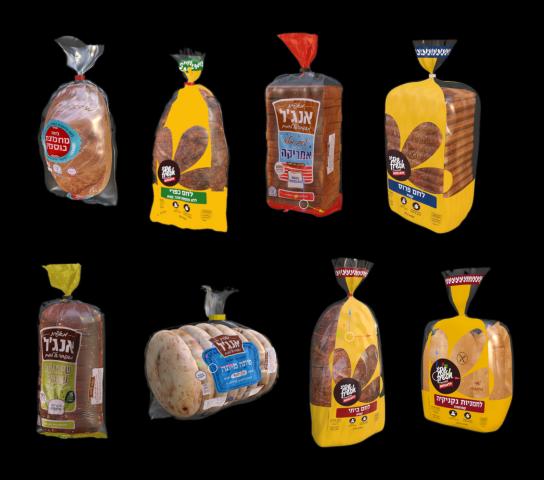 Набор булок и хлебов