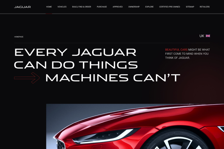 Дизайн многостраничного автомобильного сайта